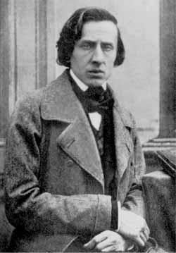 Фредерик Францишек Шопен. Фото 1847 года. Фотограф Луи-Огюст Биссон