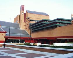 Самая большая библиотека в мире. Британская библиотека. Англия.