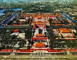 Самый большой дворец в мире. Запретный город. Пекин. Китай.