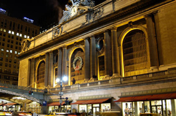Самый большой вокзал в мире. Вокзал Гранд-Сентрал. Нью-Йорк. США.