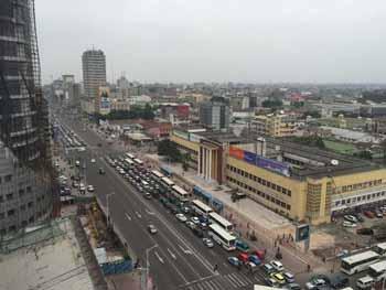 Город Киншаса