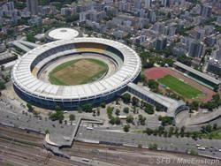 Бывший самый большой стадион в мире. Марио Фильо (Маракан). Рио-де-Жанейро. Бразилия.