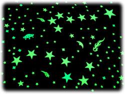 Набор наклеек на потолок звездное небо.