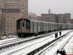 Самое большое метро в мире. Нью-Йоркский метрополитен. Нью-Йорк. США.