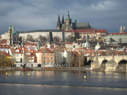 Самый большой замок в мире. Пражский град. Прага. Чехия.