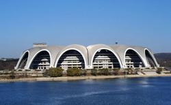 Самый большой стадион в мире. Стадион Первого Мая. Пхеньян. Северная Корея.