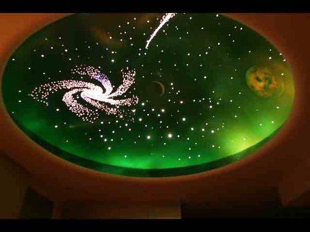 фото потолков звездное небо 3